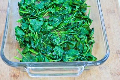 Kalyn's Kitchen®: Recipe for Spinach and Mozzarella Egg Bake. I would ...