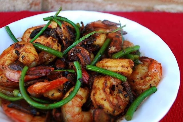 Spicy Whiskey Garlic Shrimp | seafood | Pinterest