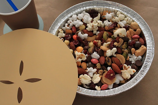 popcorn trail mix | I'm HUNGRY Snack Ideas :) | Pinterest