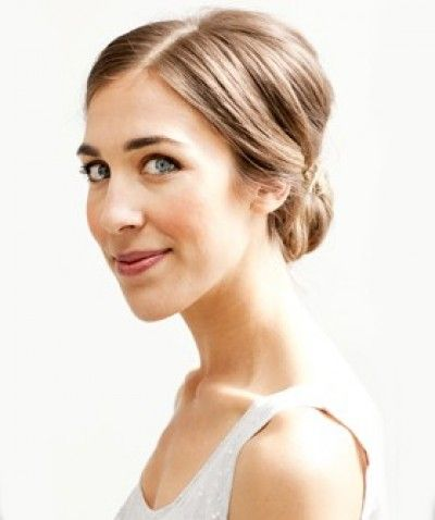 Simple casual but classy bun hairstyle