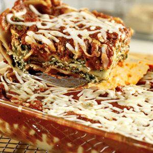 Extra-Easy Spinach Lasagna | Recipe