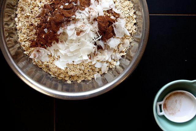 maple pecan granola by joy the baker, via Flickr