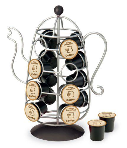 Pod Holder Organizer Pods Rack Holds 16 K Cups EBay Kitchen Coffee
