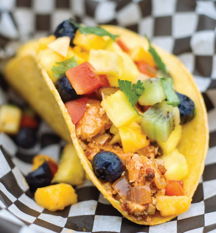 Killer Fish Tacos with Fresh Fruit Salsa | Main Course | Pinterest