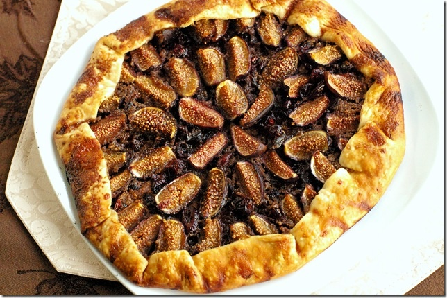 Fig tart - yum! and it can be made dairy free :)
