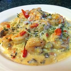 Peppered Shrimp Alfredo | Main Course: Seafood | Pinterest