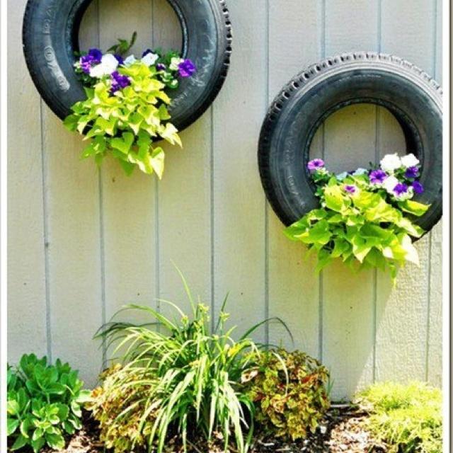 Divi rtete reciclando neum ticos re max cl sico blog for Jardin 8686