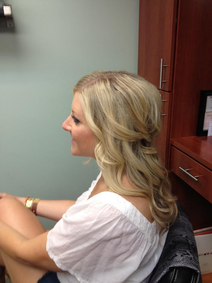 Love , wedding hair trial | Wedding Ideas | Pinterest