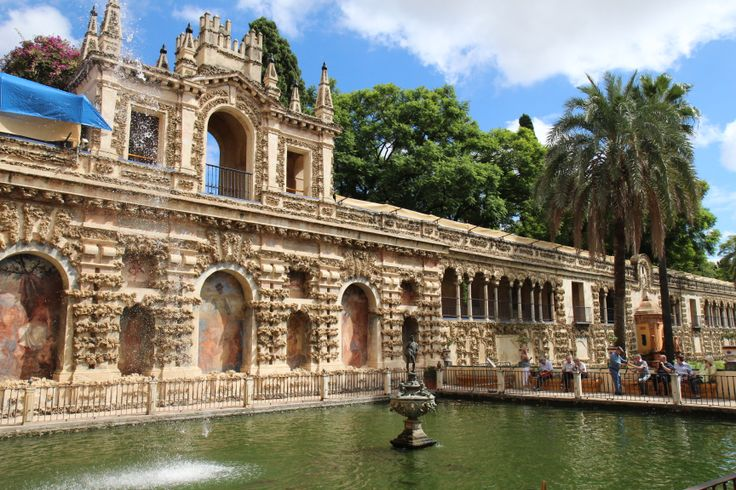 Real Alcazar -Seville  Spain  Pinterest