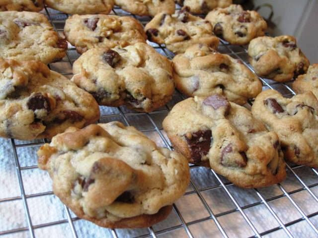 Triple Chocolate Chunk Cookies - 3 WW Points plus each