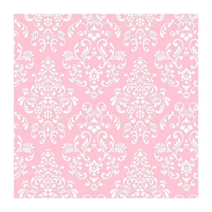Light Pink Damask Wallpaper | Demask | Pinterest