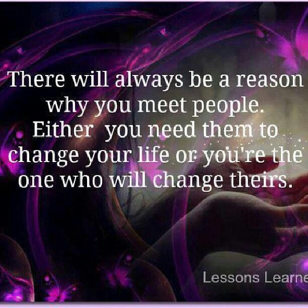 you meet everyone for a reason quotes images