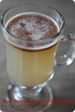 Chai Spiced Hot Buttered Rum - Nutmeg Nanny