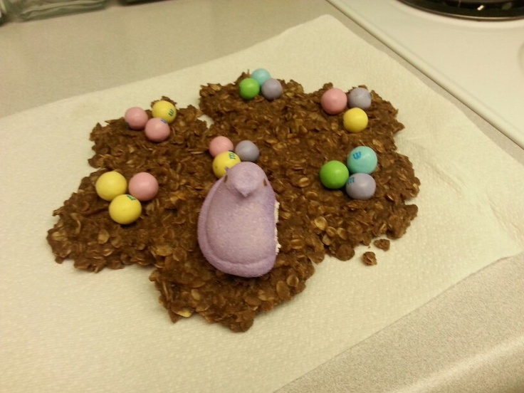 No bake cookies. Easter style! | MMMMM! | Pinterest