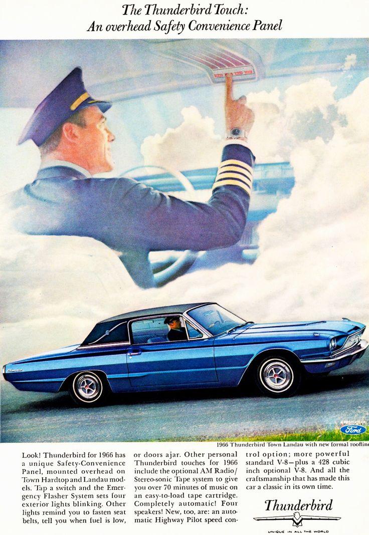 Luxury Cruise Missile 1964 Ford Thunderbird