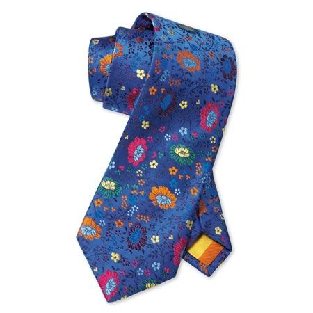"""Royal Floral"" tie, by Charles Tyrwhitt ($79)"