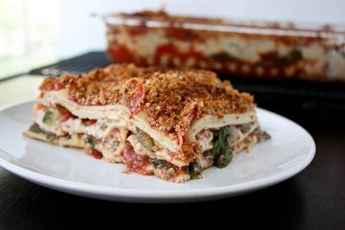 The ultimate vegan vegetable lasagna | Mah Awesome Recipes | Pinterest