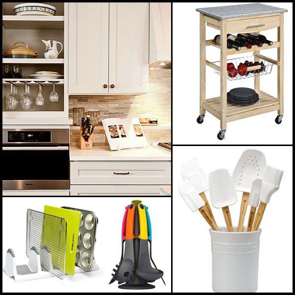 Kitchen Storage Solutions  Kitchen Organization  Pinterest