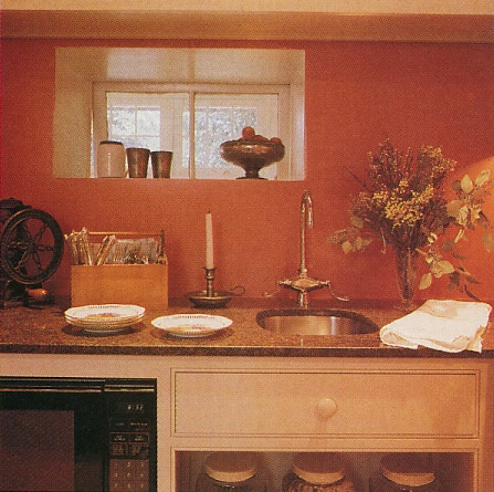 Pin by kizilod on color burnt orange terracotta home - Kitchen with orange walls ...