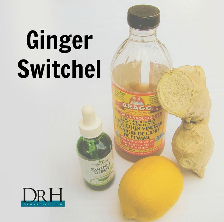 , Karen, brought me this great recipe for Ginger Switchel! Switchel ...