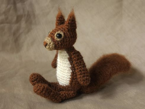 Squirrel Filet Bookmark - Patty' Filet and Crocheting Site