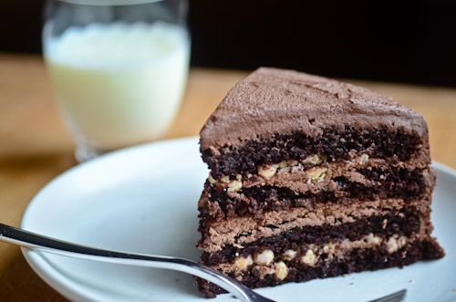 malted chocolate cake! | Food and Recipes | Pinterest