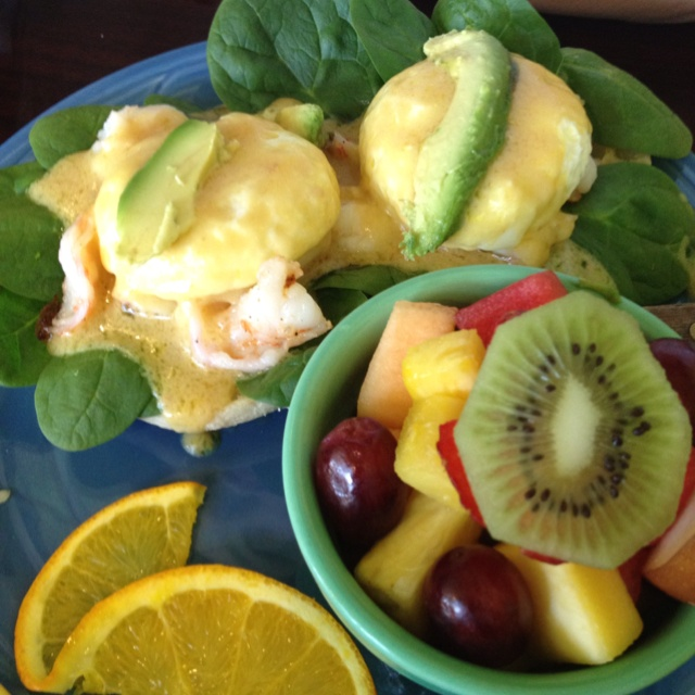 Shrimp Eggs Benedict | Breakfast And Brunch | Pinterest