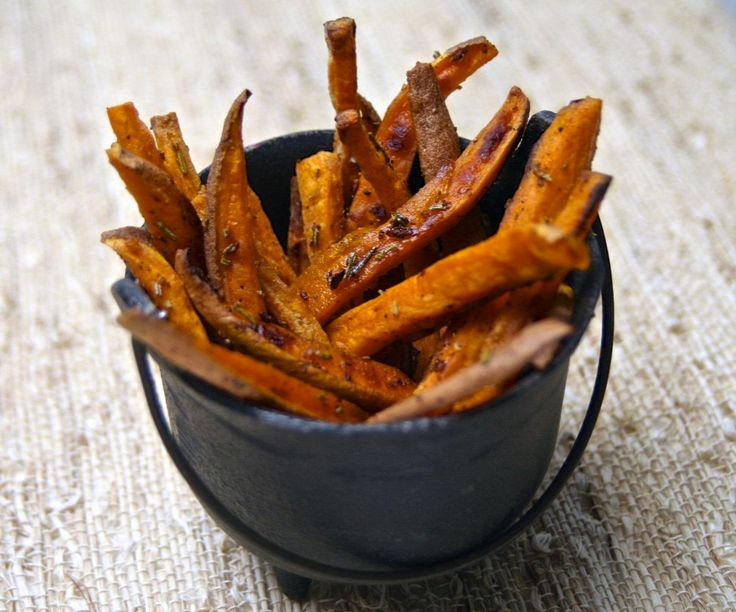 Rosemary Garlic Sweet Potato Fries Recipes — Dishmaps