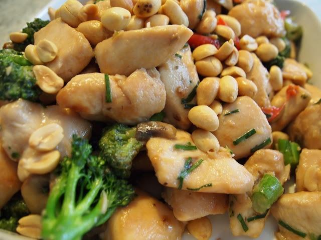Gong Bao Chicken   YUMMY, YUMMY..GET IN MY TUMMY!   Pinterest