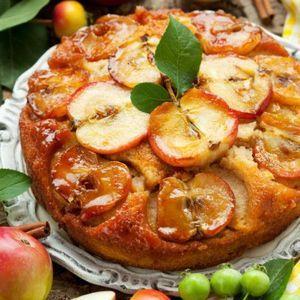 Apple Cinnamon Upside-Down Cake | Eats/Food | Pinterest