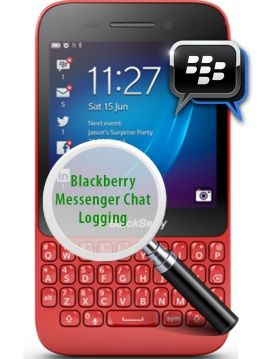 blackberry monitoring console blank page
