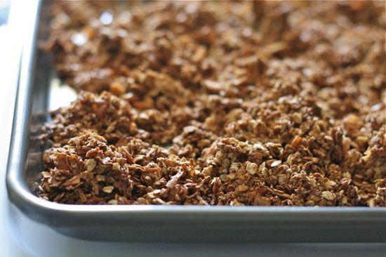 Chocolate Almond Granola 11 by laurenslatest, via Flickr