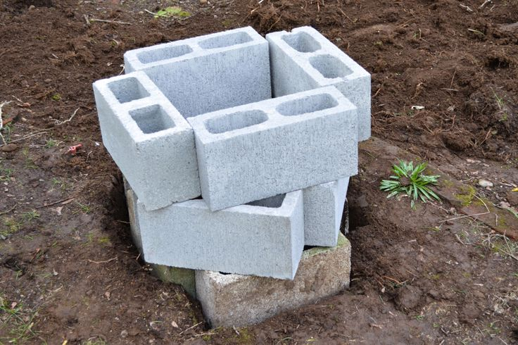 How to build a cinder block fire pit for How to build a block fire pit
