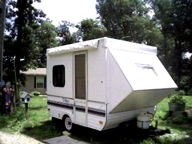 24 Amazing Pop Up Camper Trailer Conversion