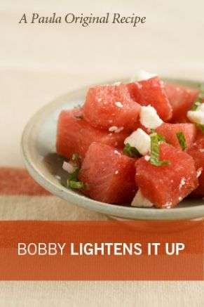 Bobby's Lighter Watermelon Salad with Feta and Mint add blueberry ...