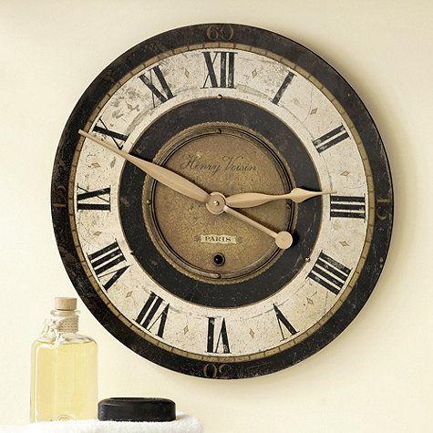henry voison clock ballard designs pinterest