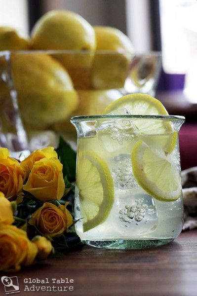 Rose water Lemonade from Oman - the quickest way to romance.