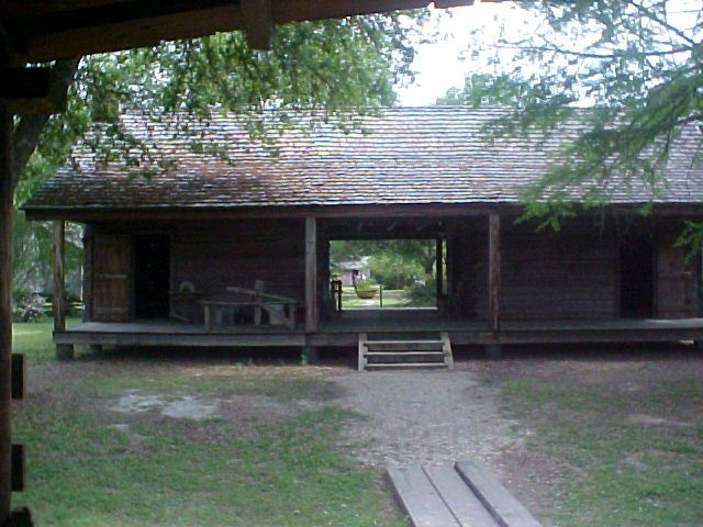 Dog Trot House 1800s Rural Life Photos Cabins Pinterest