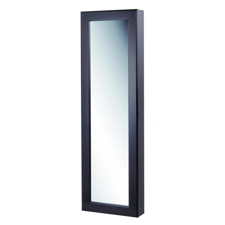 With Full Length Wall Mirror Storage : The Kimberly full-length wall mount mirror is an elegant addition to a ...