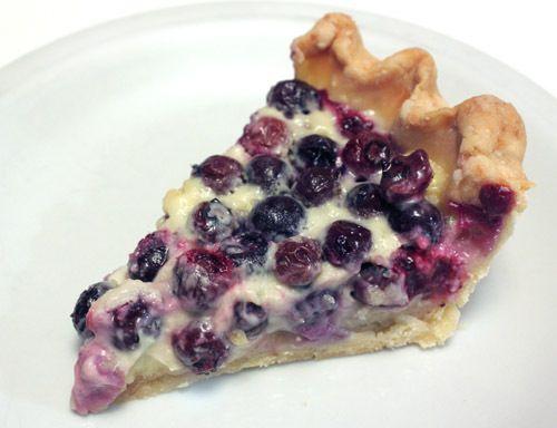 Black Raspberry Custard Pie | Desserts/Cupcakes | Pinterest