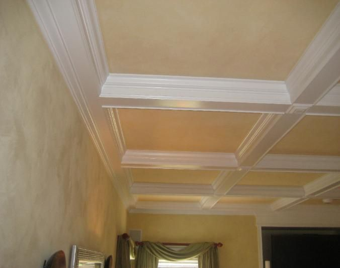 Coffered Ceiling Pictures New House Pinterest