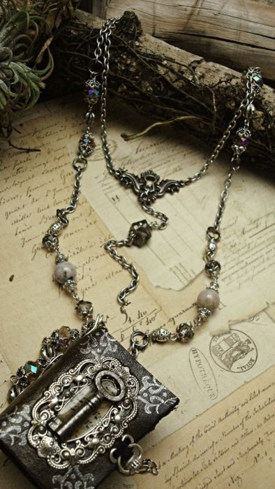 Bohemian Rhapsody by Luthien Thye. LOVE the chain, not so much the pendant.