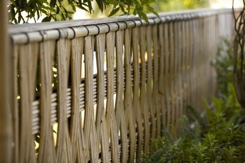 Bamboo Fence Ideas Bamboo Pinterest