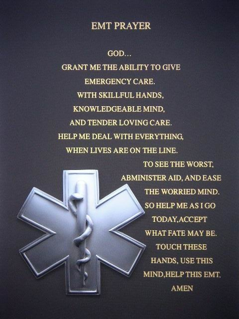 emt prayer Quotes
