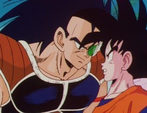 Goku and Raditz | Dbz | Pinterest