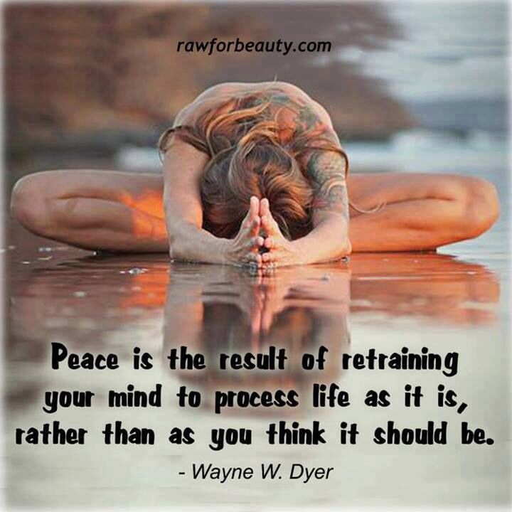 wayne dyer on peace quotes quotesgram