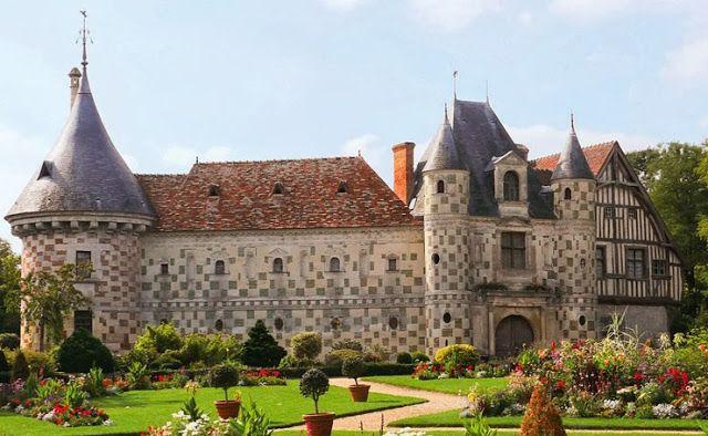 Normandy Chateaux Castles Pinterest