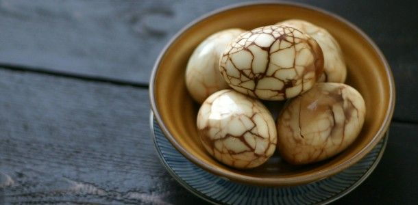 How to Hard Boil Eggs & Chinese Marbled Tea Eggs | Recipe