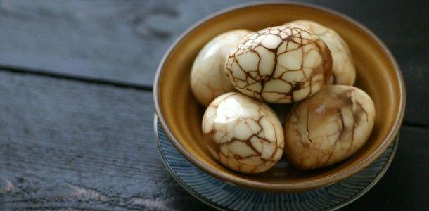 Chinese Marbled Tea Egg Recipe — Dishmaps