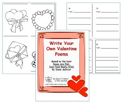 valentine's day writing activity 2nd grade